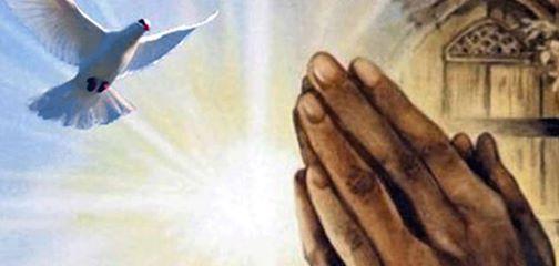 Prayer dove Holy Spirit