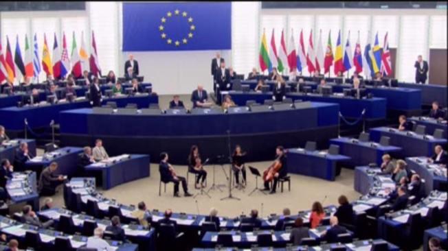 Parlement Européen - Strasbourg. Ziua Uniunii Europene Foto Daniel Buda